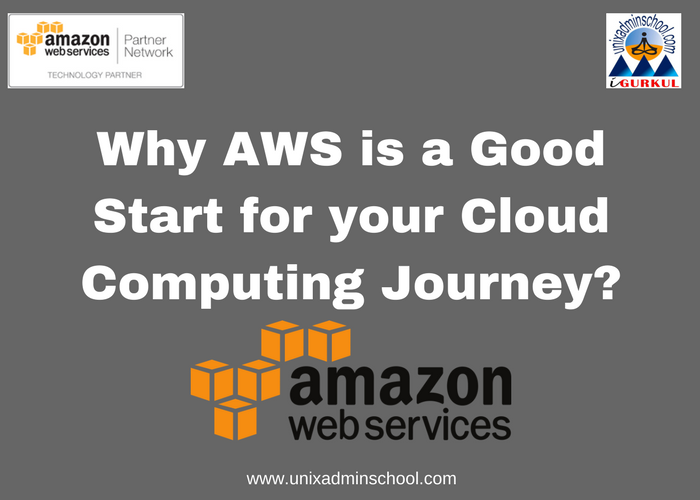 Why Aws Is A Good Start For Your Cloud Computing Journey