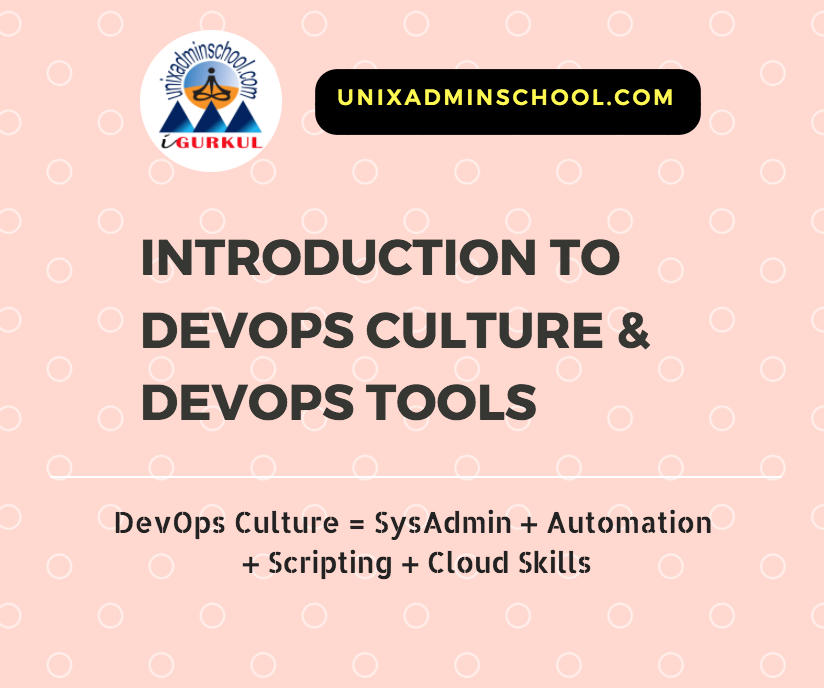 Introduction To DevOps Culture And DevOps Tools