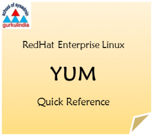 Linux Admin Reference : Yum Quick Reference – Redhat Enterprise Linux